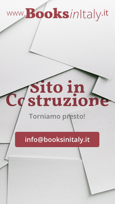 Books in Italy - Mobile Courtesy Page